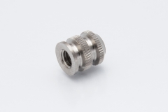 Threaded bushing according to DIN, knurl, inner thread